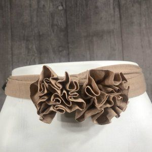 Lane Bryant Toffee Brown Jersey Stretch Headband
